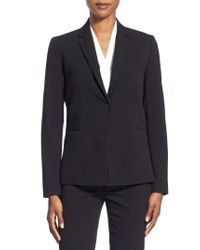 T Tahari - Black Jolie Stretch Woven Suit Jacket - Lyst