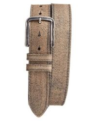 Torino Leather Company - Brown Sanded Leather Belt for Men - Lyst
