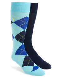 Polo Ralph Lauren | Blue Cotton Blend Socks for Men | Lyst