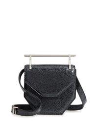 M2malletier   Black Mini Amor Fati Single Calfskin Leather Shoulder Bag   Lyst