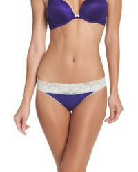 Betsey Johnson | Blue Forever Perfect Hipster Panties | Lyst