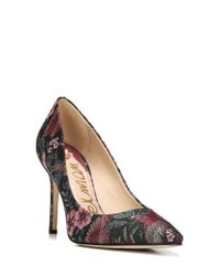 Sam Edelman - Black Hazel Pump - Lyst