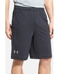 Under Armour | Black 'raid' Heatgear Loose-fit Athletic Shorts for Men | Lyst