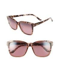 Maui Jim - Pink Moonbow 57mm Polarizedplus2 Sunglasses - Lyst