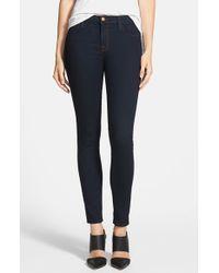 J Brand | Blue '811' Ankle Skinny Jeans | Lyst