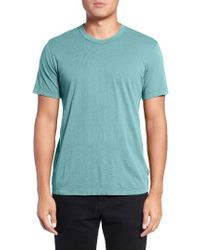 James Perse | White Crewneck Jersey T-shirt for Men | Lyst