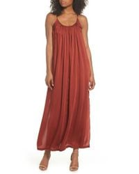 Knot Sisters - Red Yvonne Maxi Dress - Lyst