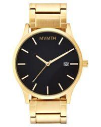 MVMT - Metallic Bracelet Watch for Men - Lyst