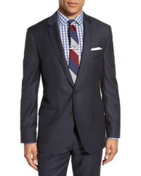 J.Crew - Blue J.crew Ludlow Trim Fit Solid Wool Sport Coat for Men - Lyst