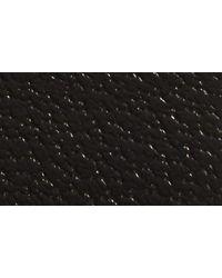 Gucci Black Gg Pebbled Leather Belt for men