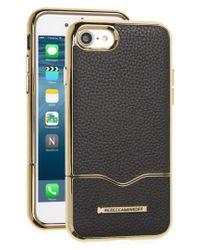 Rebecca Minkoff - Black Leather Iphone 7 Slider Case - Lyst