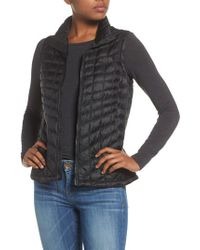 The North Face - Black Thermoball Primaloft Vest - Lyst