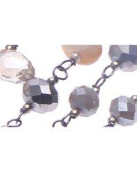 Nakamol Multicolor Crystal & Pyrite Magnetic Bracelet