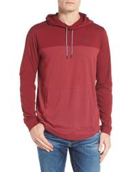 Hurley - Red Dri-fit Hoodie for Men - Lyst