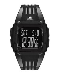 Adidas Originals - Black 'duramo' Digital Watch - Lyst