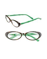 Lilly Pulitzer | Green Lilly Pulitzer 'splash' 50mm Reading Glasses | Lyst