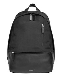 Skagen - Black Kroyer Backpack - Lyst
