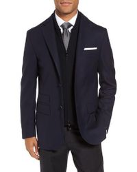 Corneliani | Blue Id Classic Fit Wool Jacket for Men | Lyst