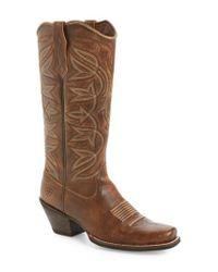 Ariat - Brown Sheridan Western Boot - Lyst