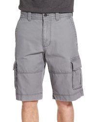 Nordstrom - Gray Herringbone Cargo Shorts for Men - Lyst