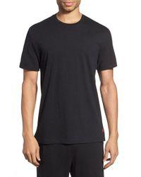 Polo Ralph Lauren | Black Crewneck T-shirt for Men | Lyst