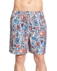 Jack O'neill - Blue 'soiree' Volley Swim Trunks for Men - Lyst