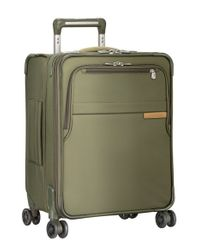 Briggs & Riley | Green 'baseline' Wide Body Expandable Rolling Packing Case for Men | Lyst