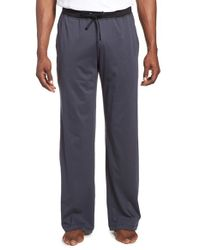 Daniel Buchler | Gray Peruvian Pima Cotton Lounge Pants for Men | Lyst