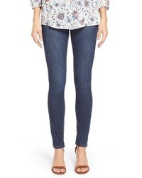 Jag Jeans | Blue 'nora' Pull-on Stretch Skinny Jeans | Lyst