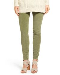 Jag Jeans | Green Nora Pull-on Stretch Skinny Corduroy Pants | Lyst