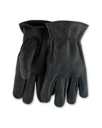 Red Wing | Black Buckskin Leather Gloves for Men | Lyst