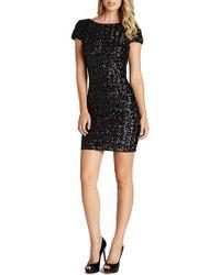Dress the Population | Black Tabitha Sequin Minidress | Lyst