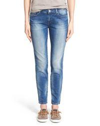Mavi Jeans | Blue 'emma' Stretch Slim Boyfriend Jeans | Lyst