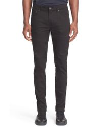 Acne | Black 'ace' Slim Straight Leg Jeans for Men | Lyst