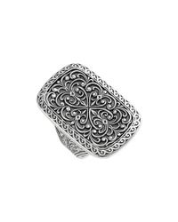 Konstantino | Metallic 'classics' Rectangle Filigree Ring | Lyst