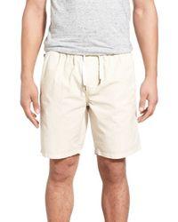 Ezekiel - Blue 'karma' Drawstring Shorts for Men - Lyst
