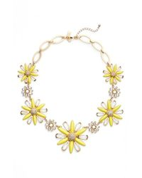 kate spade new york | Metallic 'daisy Dreams' Statement Necklace | Lyst