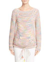 Chloé - Green Space Dye Knit Sweater - Lyst