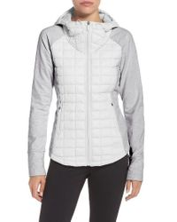 The North Face | Gray 'endeavor' Thermoball Primaloft Quilted Jacket | Lyst