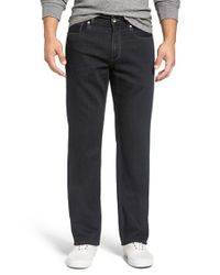 Tommy Bahama | Black 'caymen' Relaxed Fit Straight Leg Jeans for Men | Lyst
