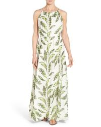 Tommy Bahama - Multicolor Palmier Watercolor-Print Georgette Dress - Lyst
