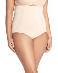 Spanx | Natural Spanx Oncore High Waist Briefs | Lyst