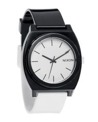 Nixon - Black 'the Time Teller' Watch for Men - Lyst