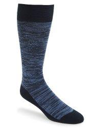 Calibrate | Blue Argyle Socks for Men | Lyst