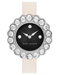 Marc Jacobs - Natural 'tootsie' Leather Strap Watch - Lyst