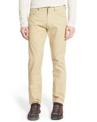 Patagonia | Natural 'all-wear' Straight Leg Pants for Men | Lyst
