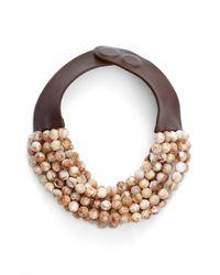 Fairchild Baldwin - Multicolor Multirow Beaded Collar Necklace - Lyst