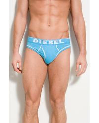 DIESEL - Blue Diesel 'fresh And Bright' Briefs for Men - Lyst
