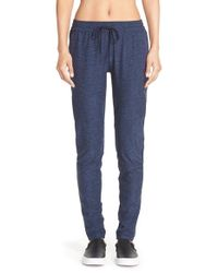 Outdoor Voices - Blue 'running Woman' Jersey Sweatpants - Lyst