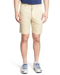 Bobby Jones - Natural 'tech' Flat Front Wrinkle Free Golf Shorts for Men - Lyst